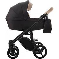 Детская универсальная коляска 2 в 1 Bebetto Luca VERO (01) Черный