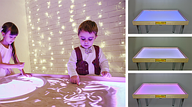 Стіл для малювання піском 100х60см Art&Play® ясен