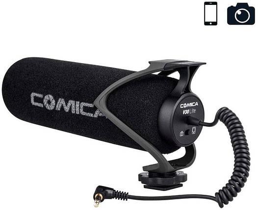 Внешний микрофон для камеры и смартфона Comica CVM-V30 Lite, фото 2