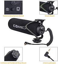 Зовнішній мікрофон для камери і смартфона Comica CVM-V30 Lite, фото 2