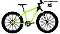 Велосипед алюминиевый внедорожник фэтбайк 26 Impuls Traffic 2.0  (fatbike) 2020