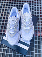 Кроссовки женские Adidas Ozweego White. Стильные женские кроссосвки. , фото 1