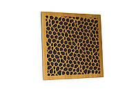 Акустическая панель Ecosound EcoNet cream 50х50 см 73мм цвет светлый дуб, фото 1