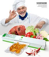 Вакуумный упаковщик PROTECH Freshpack Pro, Вакууматор, Бытовой пищевой вакуумный упаковщик, Упаковочная машина