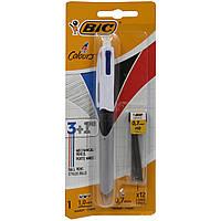 Ручка шариковая 3 цвета+карандаш Bic