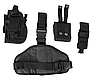 Кобура с платформой и карманами  черная   MFH Германия, фото 3