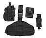 Кобура с платформой и карманами  черная   MFH Германия, фото 6