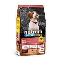 Nutram S2 Sound Balanced Wellness Natural Puppy сухой корм для щенков с курицей и цельными яйцами