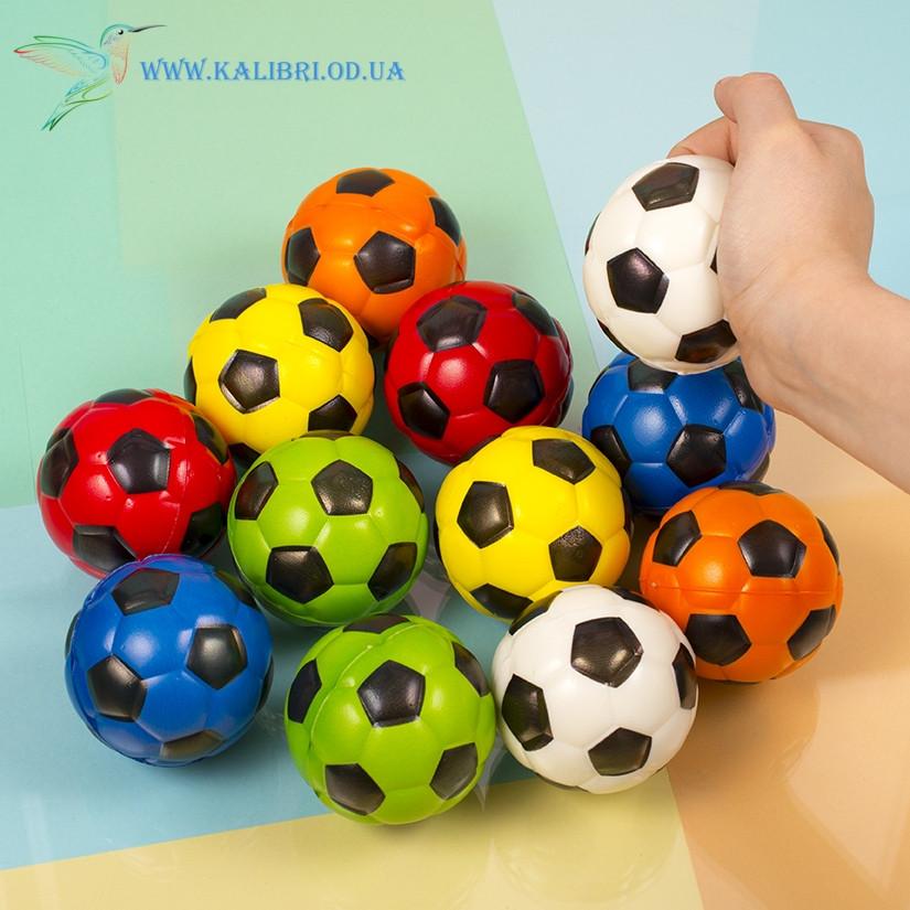 М'ячик м'який поролоновий Футбол 6,3 см
