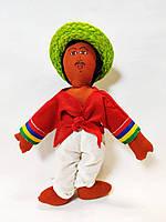 Мягкая игрушка сувенирная мексиканец в шляпе