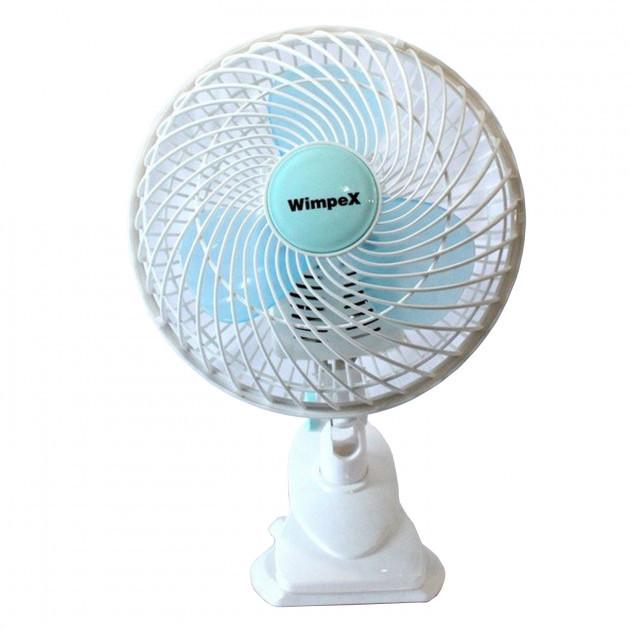 Вентилятор электрический настольный Wimpex на прищепке WX-707