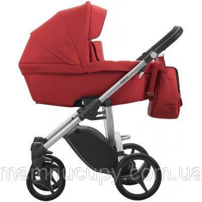 Детская универсальная коляска 2 в 1 Bebetto Luca (15) Красный / Серая рама