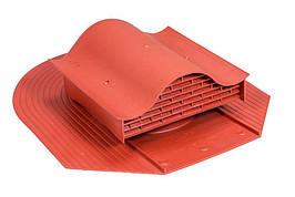Кровельный вентиль (аэратор) для битумной черепицы VILPE KTV FELT Красный
