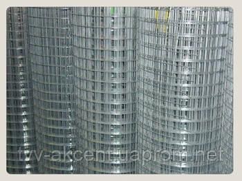 Сетка сварная оцинкованная 50х50мм х1,40мм (30 метров)