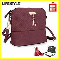 Женская сумка, Клатч Бэмби, Маленькая сумка Bambi + Часы в Подарок!