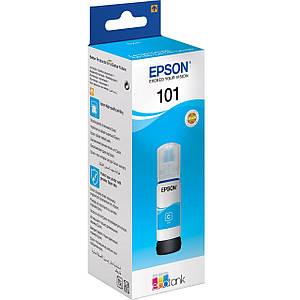 Чернила для EPSON L4150 принтера, голубые краски, оригинальные, контейнер * 70 мл (OEM-EPSON-L4150-C-70)