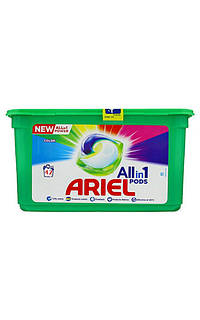 Капсули для прання Ariel Pods Color All in 1, 42 штуки 01443