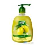 Жидкое крем-мыло «Пуся» Оливковое с антибактериальным эффектом 500 мл