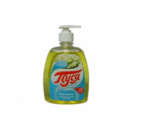 Жидкое крем-мыло «Пуся» Ромашка с антибактериальным эффектом 500 мл