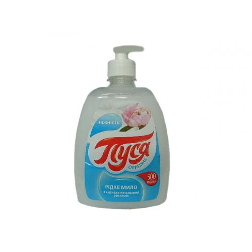 Жидкое крем-мыло «Пуся» Нежность с антибактериальным эффектом 500 мл