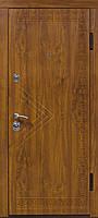 Дверь входная Министерство Дверей мдф/мдф ПК-11 Дуб золотой 2050х960мм правая