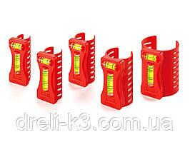 Набор уровней для труб 5 шт KAPRO (350kr)