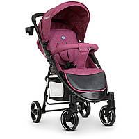 Детская прогулочная коляска El Camino M 3409L Favorit Розовый | Коляска-книжка Эль Камино Фаворит