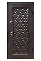 Дверь входная Министерство Дверей мдф/мдф ПО-89 Венге фактура 2050х960мм правая