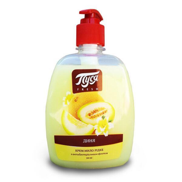Жидкое крем-мыло «Пуся» Медовая дыня антибактериальное 500 мл