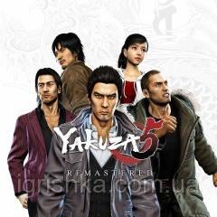 Yakuza 5 Remastered Ps4 (Цифровий аккаунт для PlayStation 4) П3