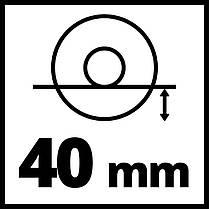 Угловая бесщеточная шлифмашина Einhell TE-AG 18/150 Li BL - Solo Ø150 мм New, фото 2