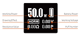 Smok H-Priv 50 на 50 Вт, електронна сигарета Оригінал . Помаранчевий, фото 3