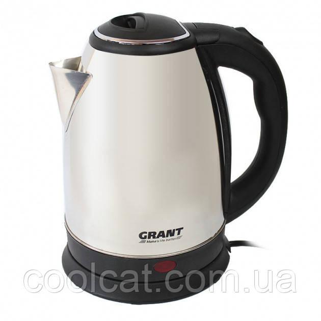 Електрочайник Grant DT-0418 InTrend Сталевий