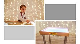 Стіл для малювання піском 70х50см Art&Play® вільха