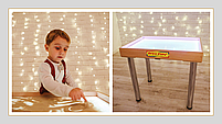 Стіл для малювання піском 70х50см Art&Play® вільха, фото 2