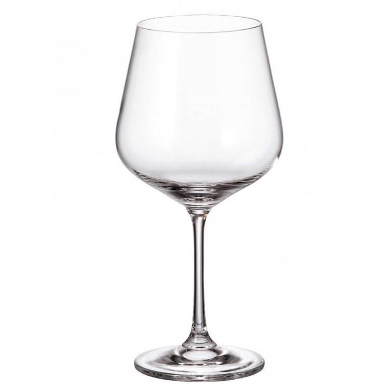 """Набір келихів скло """"Strix/Dora"""" (6шт) 600мл (вино) №1SF73/00000/600/0699/0682"""