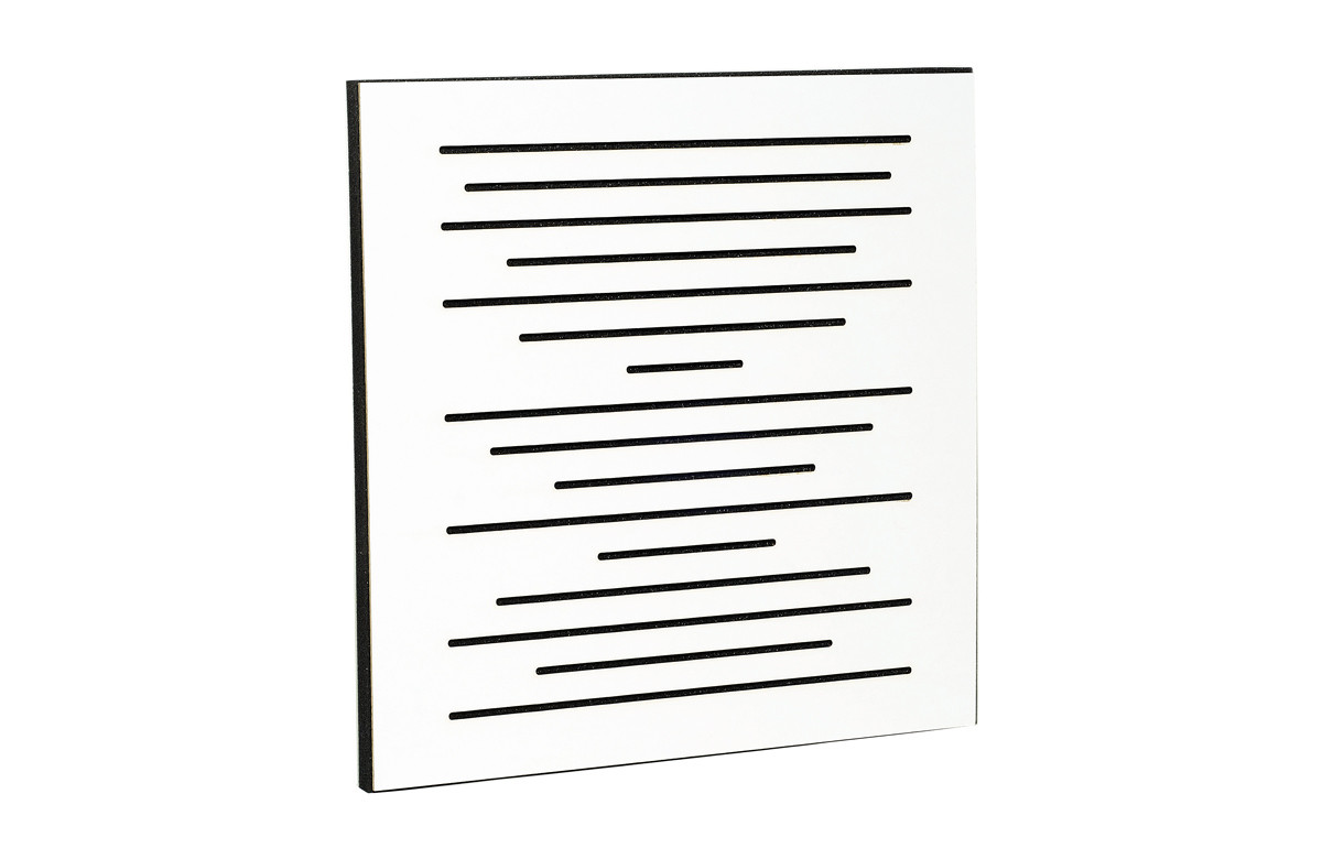Акустична панель Ecosound EcoPulse white 50х50 см 73мм Білий