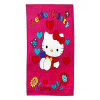 Пляжное полотенце Hello Kitty 70х140см