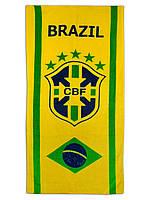 Пляжное полотенце Brazil CBF 70х140см