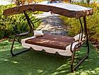 Садовые качели Грендис, фото 4