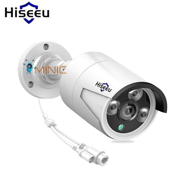 Уличная камера видеонаблюдения Hiseeu NVR, ONVIF HB624 4MP 1920x1080p
