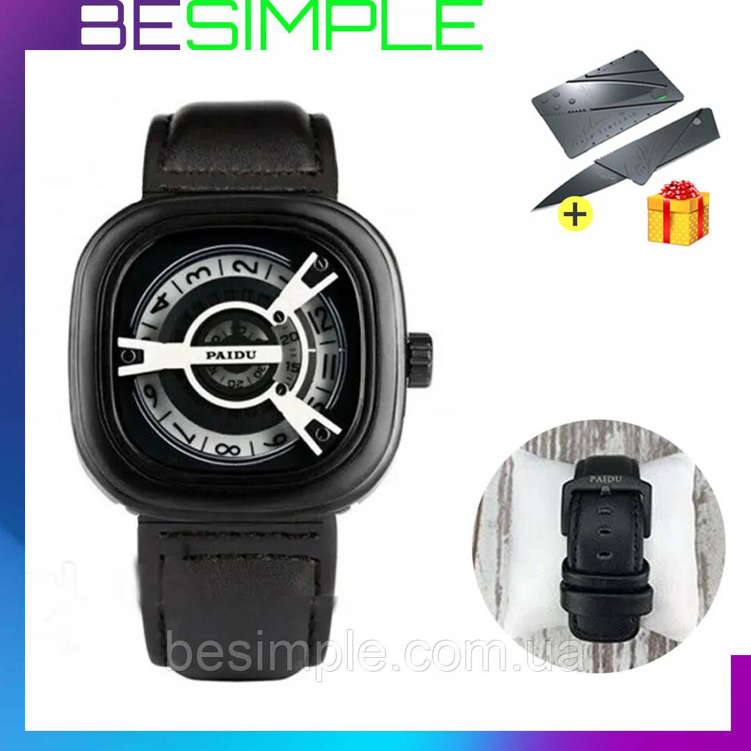 Чоловічі наручні годинники Paidu / Стильні чоловічі годинники
