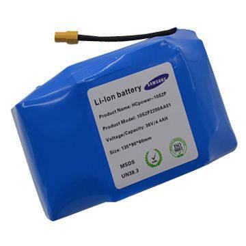 Акумуляторна батарея для гироскутера 10S2P Samsung 36v 4400mAh, фото 2