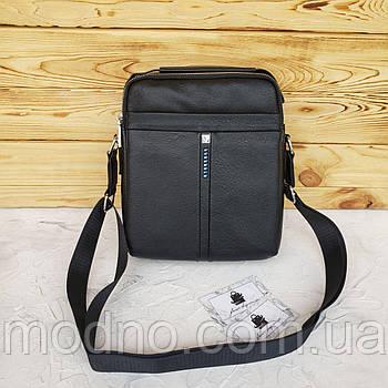 Мужская повседневная сумка через плечо черная