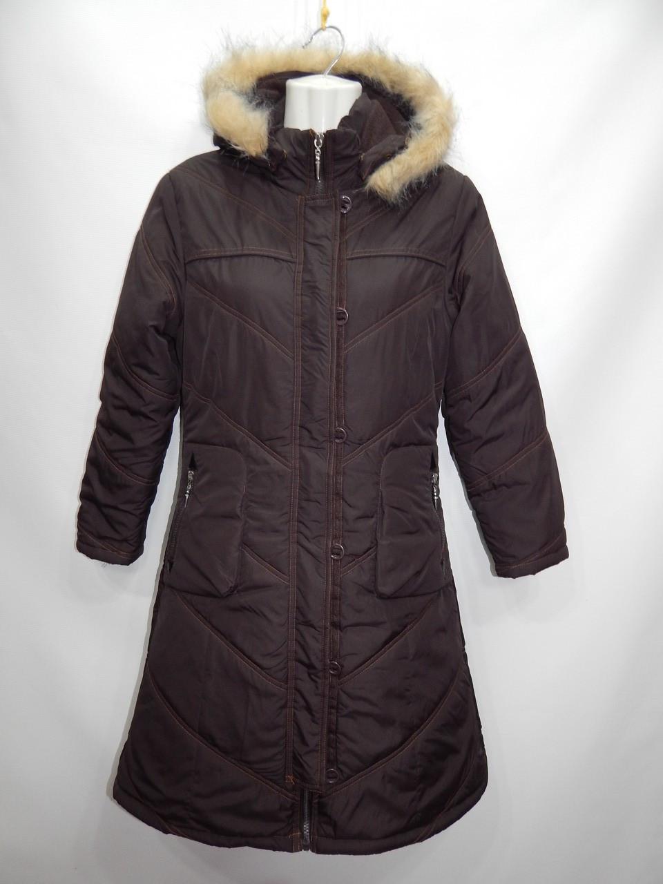 Куртка - пальто  женская утепленная с капюшоном HIKIS  (сток)  р.38-40 006GK