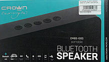 "Портативна Bluetooth колонка ""Crown CMBS-301"" (CMBL-1000), Black, фото 3"