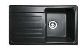 Кухонная мойка гранитная MIRAGGIO VERSAL black