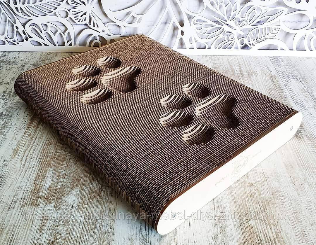 Когтеточка - лежанка напольная дизайнерская 3D Markissa TM