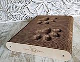 Когтеточка - лежанка напольная дизайнерская 3D Markissa TM, фото 2