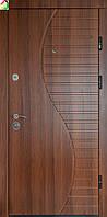 Дверь входная Министерство дверей МДФ/МДФ ПК-23+ Орех белоцерковский двери бронированные, для дома